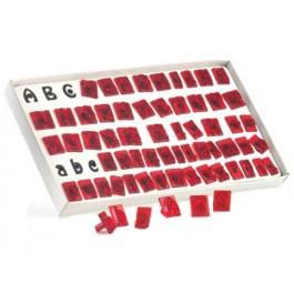 JEM Alphabet Ausstecher Set, 64 tlg.