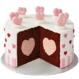 Wilton Heart Tasty-Fill Cake Pan Set