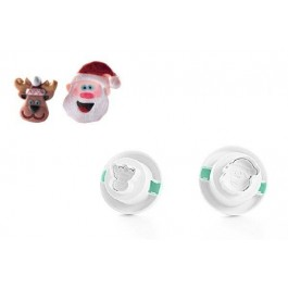 WonderCakes 3D Ausstecher Set Santa Claus