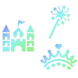 JEM Stencil Princess 3er Set
