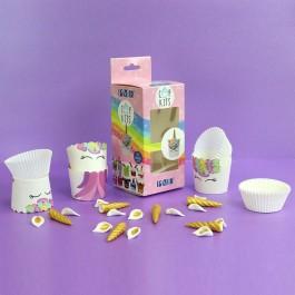 PME Cupcake Set Einhorn