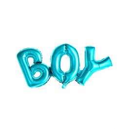Ballon - Schriftzug Boy blau