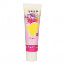 FunCakes Edible FunColours Gel - Yellow 30g