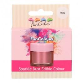 FunCakes Edible FunColours Sparkle Dust - Ruby