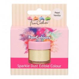 FunCakes Edible FunColours Sparkle Dust - Pearl Vanilla