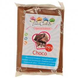 FunCakes Rollfondant - Schokolade 250g