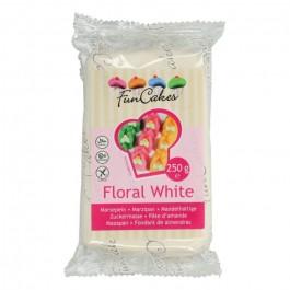 FunCakes Marzipan - Floral White 250g