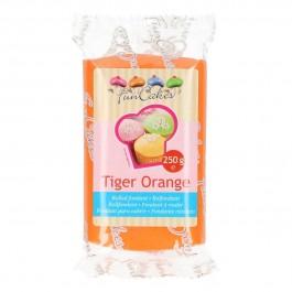 FunCakes Rollfondant - Tiger Orange 250g