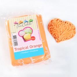 FunCakes Rollfondant - Tropical Orange 250g