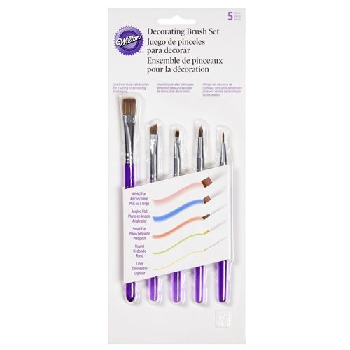 Wilton Decorating Brush Set 5 Stück