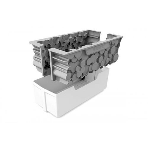 Silikomart 3D Silikon-Backform FORÊT