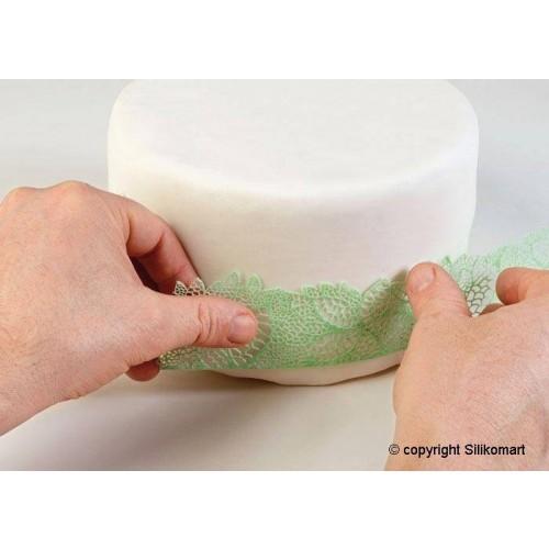Wonder Cakes Tricot Decor Matte - LEAVES SLIM