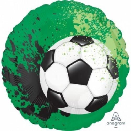 Ballon Fußball inkl. Helium