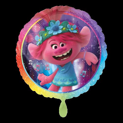 Ballon Trolls World Tour inkl. Helium