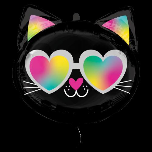 Ballon Cool Kitty inkl. Helium