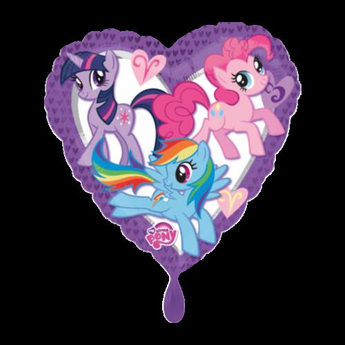 Ballon My Little Pony Herz inkl. Helium