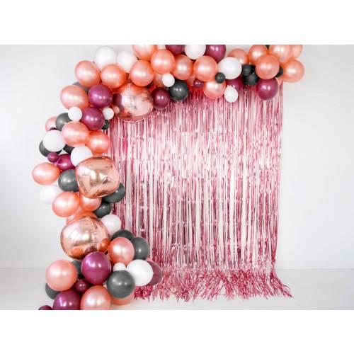 Glittervorhang - 2,5m - Rosegold