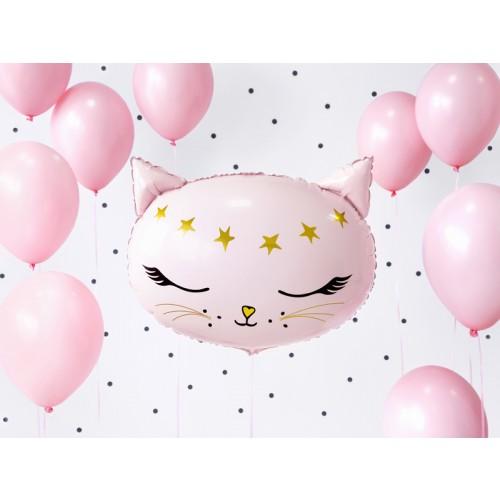 Ballon XL Katze rosa inkl. Helium