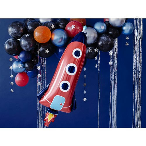 Ballon XXL Rakete inkl. Helium