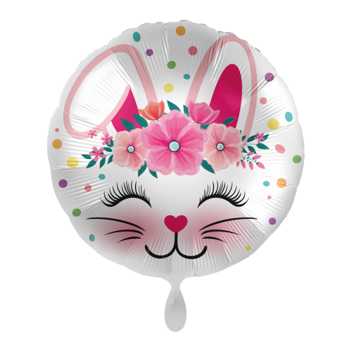 Ballon Süßer Hase inkl. Helium
