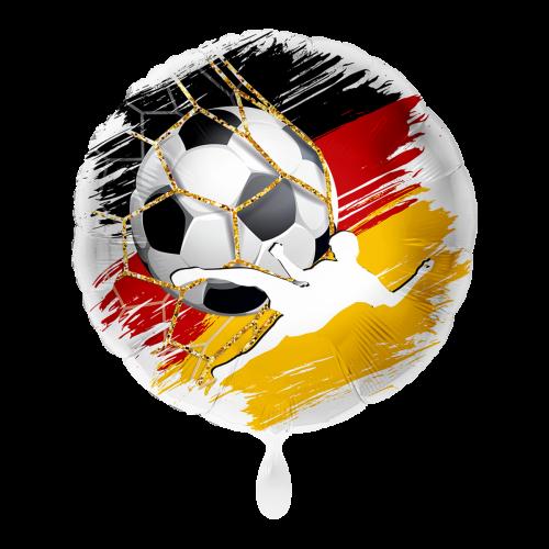 Ballon Fußball Deutschland inkl. Helium
