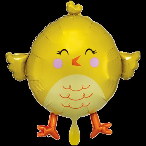 Ballon XXL Kücken inkl. Helium