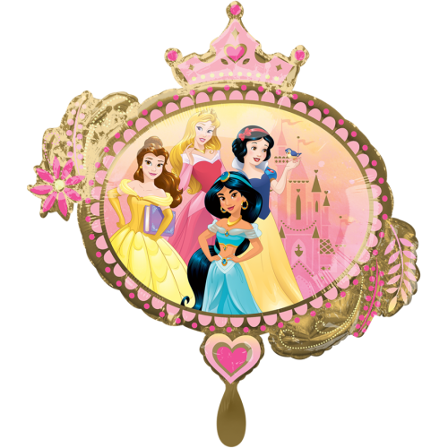 Ballon XLL Prinzessin inkl. Helium