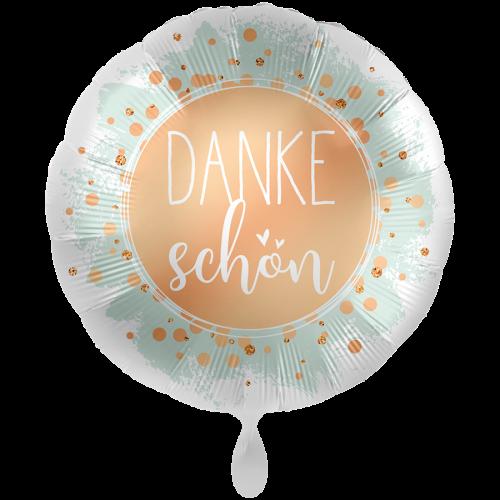 "Ballon XXL ""Dankeschön"" inkl. Helium"