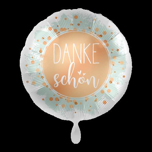 "Ballon ""Dankeschön"" inkl. Helium"