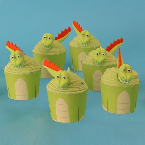 PME Cupcake Set Dinosaurier