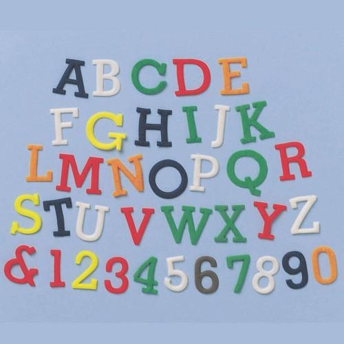 FMM Großbuchstaben Alphabet & Zahlen Ausstecher Set