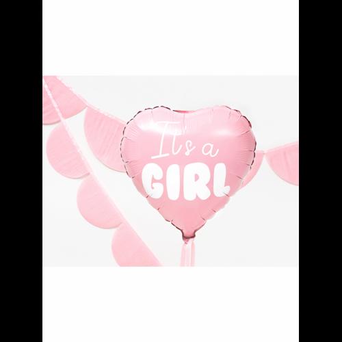 Ballon It's a Girl rosa inkl. Helium