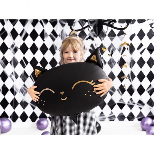 Ballon XL Katze schwarz inkl. Helium