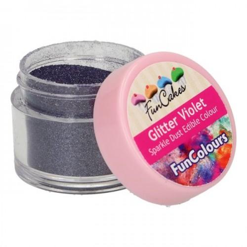 FunCakes Edible FunColours Sparkle Dust - Glitter Violet