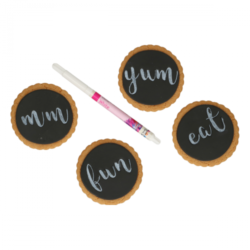FunCakes Edible FunColours Brush Food Pen - White