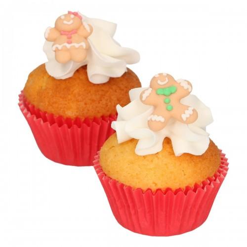 FunCakes Zucker Dekorationen Lebkuchen 8 Stück