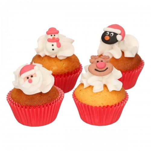 FunCakes Zucker Dekorationen Weihnachten 8 Stück