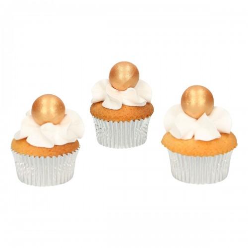 FunCakes Pearl Schokokugeln Gold 8 Stück