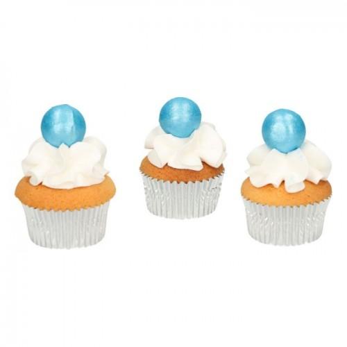 FunCakes Pearl Schokokugeln Blau 8 Stück