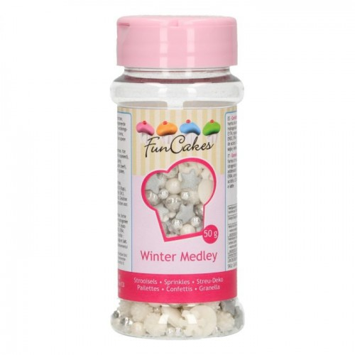FunCakes Sprinkle Medley -Winter- 50g