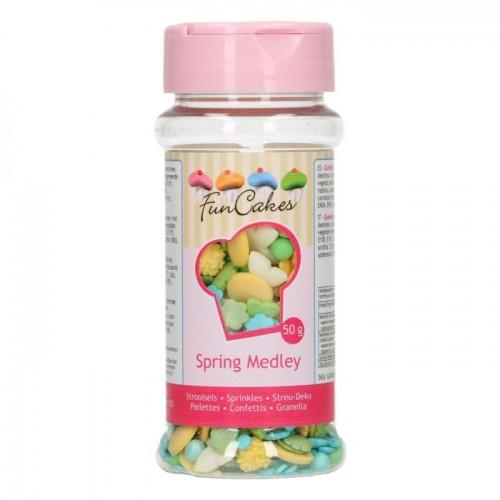 FunCakes Sprinkle Medley Spring 50g