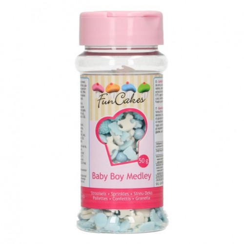 FunCakes Sprinkle Medley -Baby Boy- 50g