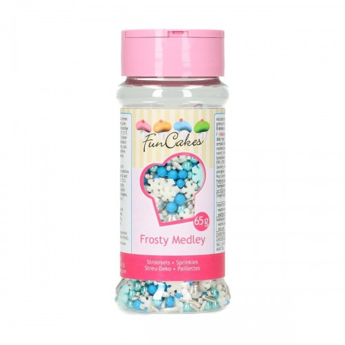 FunCakes Sprinkle Medley -Frosty- 65g