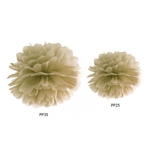 Pompom - Ø 35cm - Gold