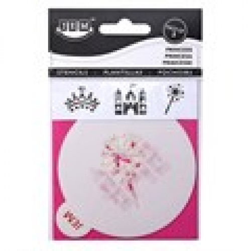 JEM Stencil Princess 3er Set