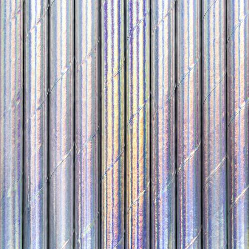 Papierstrohhalme - Iridescent