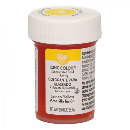 Wilton Icing Color - Lemon Yellow 28g