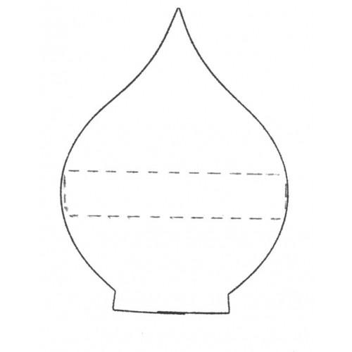 Fine Cut Aussteller Metall - Arum Lily