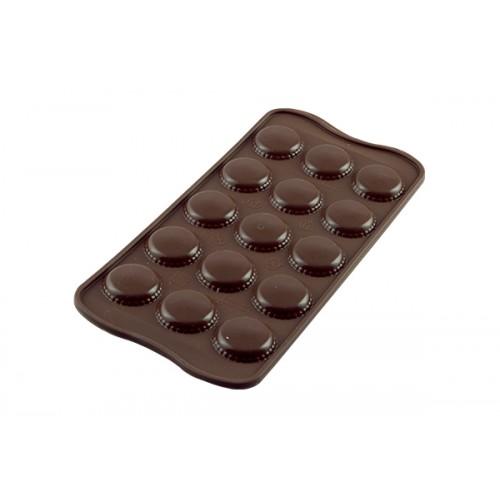 Silikomart 3D Silikonform CHOCO MACARONS