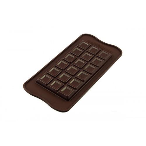 Silikomart 3D Silikonform Tablette Choco Bar